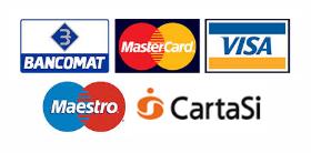Carte di pagamento accettate